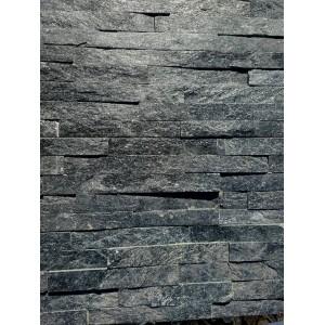 "Akmens panelė ""Black quartz"" 15x60 cm, m2 (Išpard. likutis Kaune ir Vilniuje)"